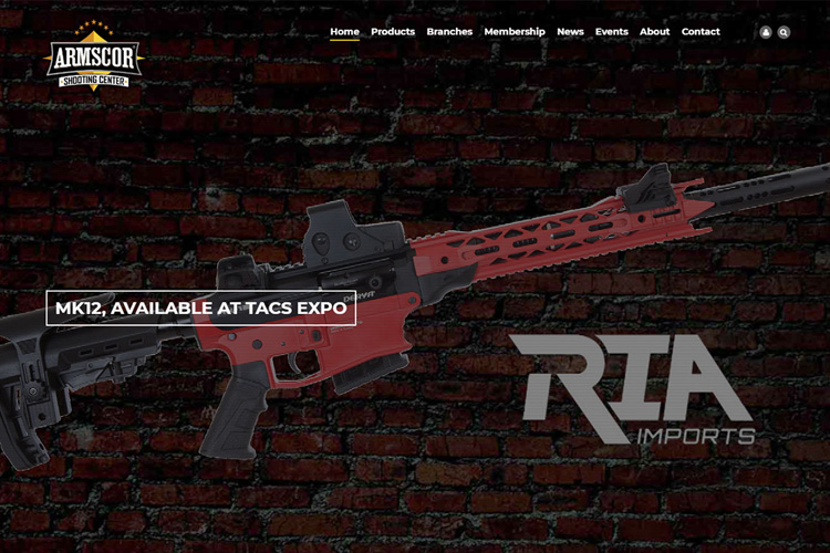 Armscor-Drupal-website-design-development-guns-ammo.jpg
