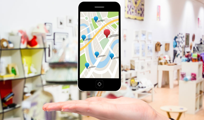 Googl map banner Drupal website