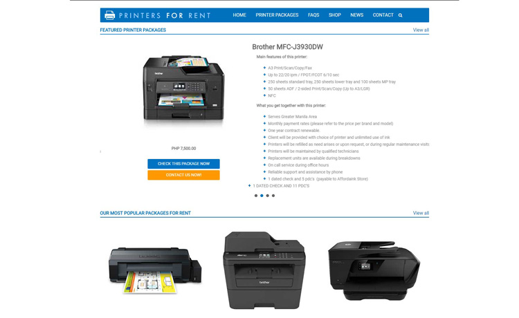Printers-for-Rent